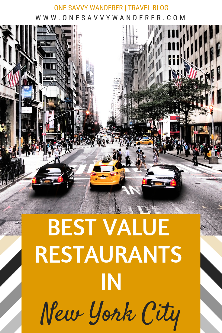 Best Value Restaurants In New York City Vacations And
