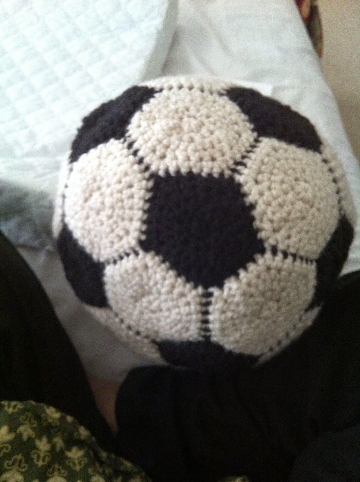 A Hook in Time - Easy Crochet Soccer Ball pattern | My Blog Posts ...