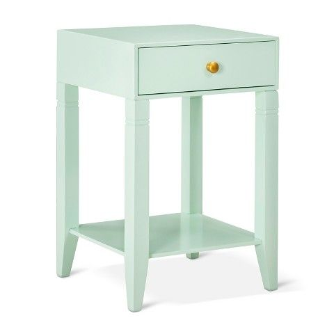 Threshold™ Accent Table With Drawer   Mint