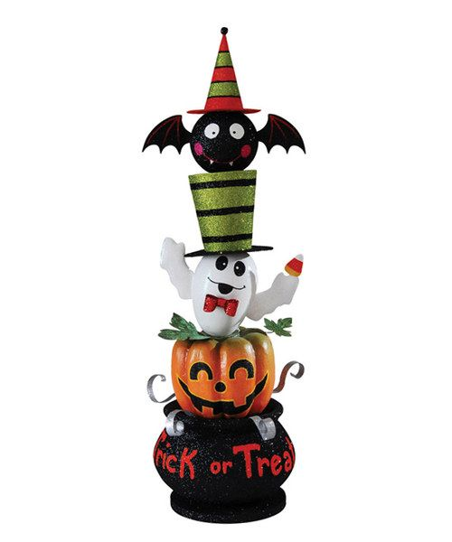 Take a look at the 'Trick or Treat' Stacking Figurine on #zulily today!