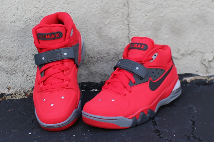 Nike Air Force Max 2013 Fire Red Eneste samler  Sole Collector