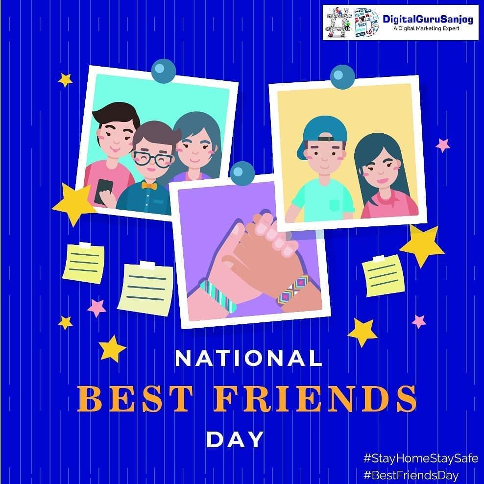 The Most Beautiful Discovery True Friends Make Is That They Can Grow Separately Withou In 2020 National Best Friend Day National Friends Day Digital Marketing Business