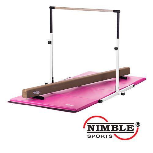 Little Gyms Nimble Sports Bar Beam And Mat Combo