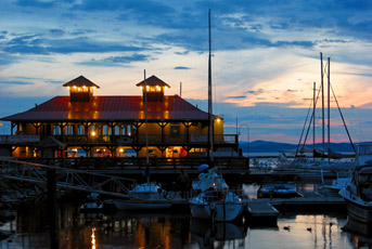 Boathouse Restaurant On The Waterfront