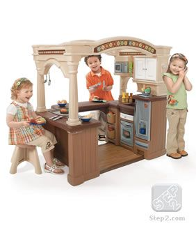 LifeStyle™ Grand Walk-In Kitchen | Play Kitchens | By Step2