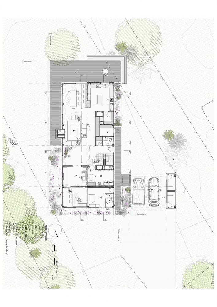 Gallery of BO House Plan B Arquitectos 21 Exterior design