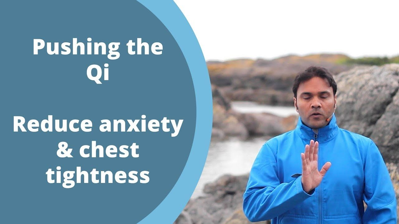 Beginner Qigong for Anxiety- Pushing the Qi with Jeff Chand