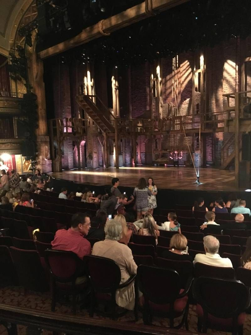 Richard Rodgers Theatre Section Orchestra R Row M Seat 20 Hamilton Shared Anonymously Orchestra Richard Rodgers The Row