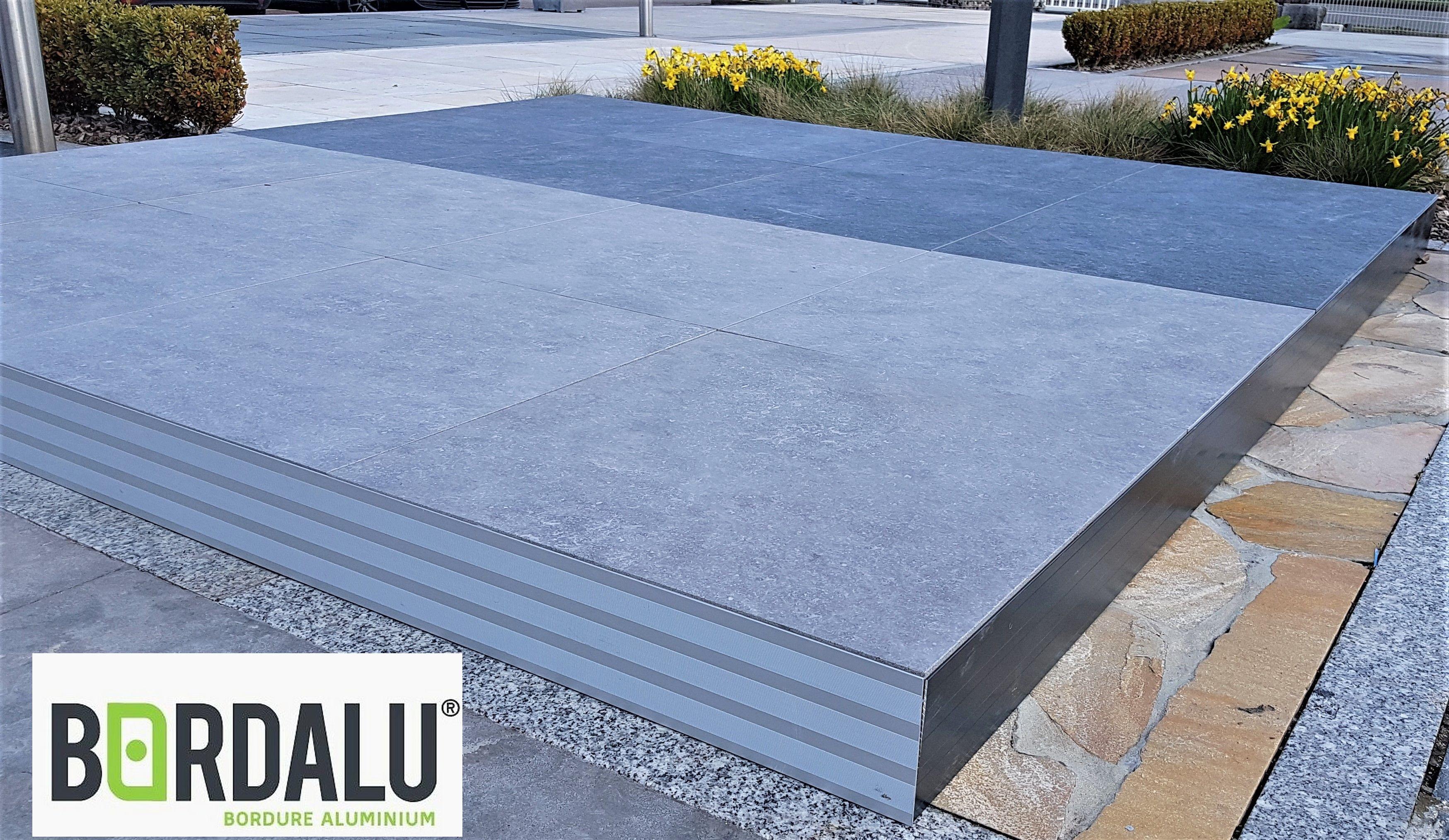 Coller Corniere Alu Sur Carrelage Exterieur profil alu pour terrasse sur plots | carrelage ceramique