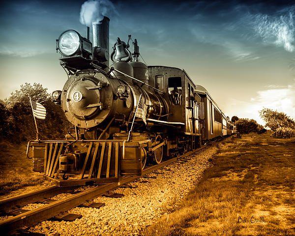 Number 4 by Bob Orsillo Train wallpaper
