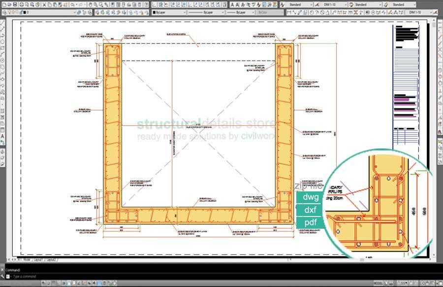 Cantilever Veranda Slab With Parapet Wall Detail Parapet Concrete Slab Floor Slab