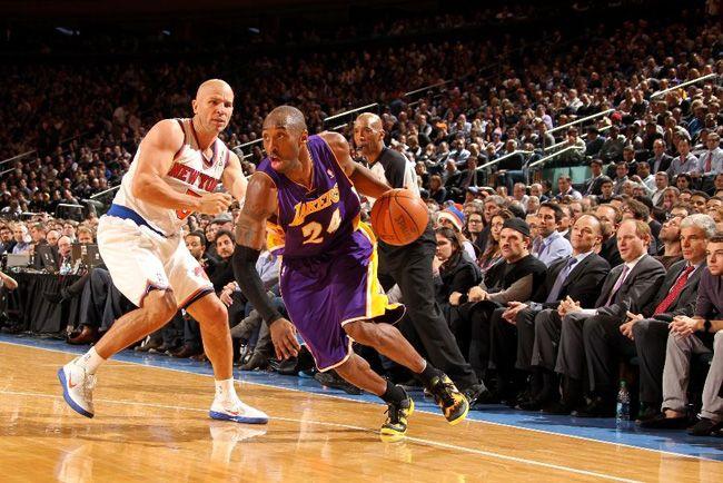 "online store 52a37 99685 Kobe Bryant Debuts Nike Kobe 8 System ""Away"" Colorway in NYC"