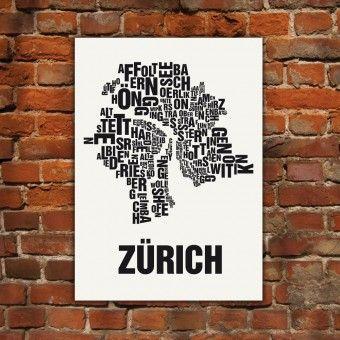 Zürich Buchstabenort