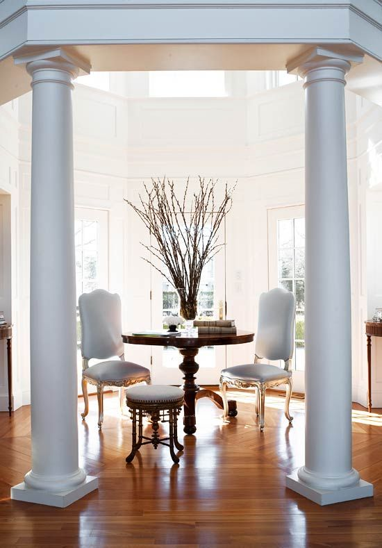 Interesting Way To Use An Entrance Halldecorating And Design Stunning Walk Through Dining Room Inspiration Design