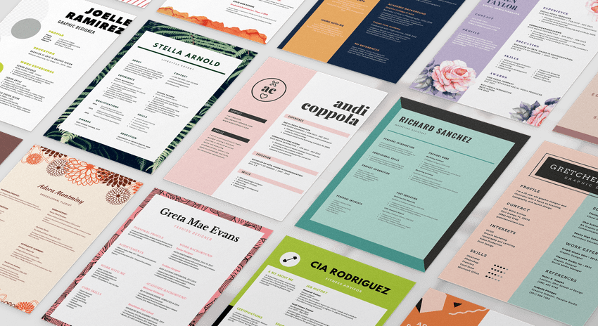 Crea un Currículum Vitae online gratis en minutos Canva