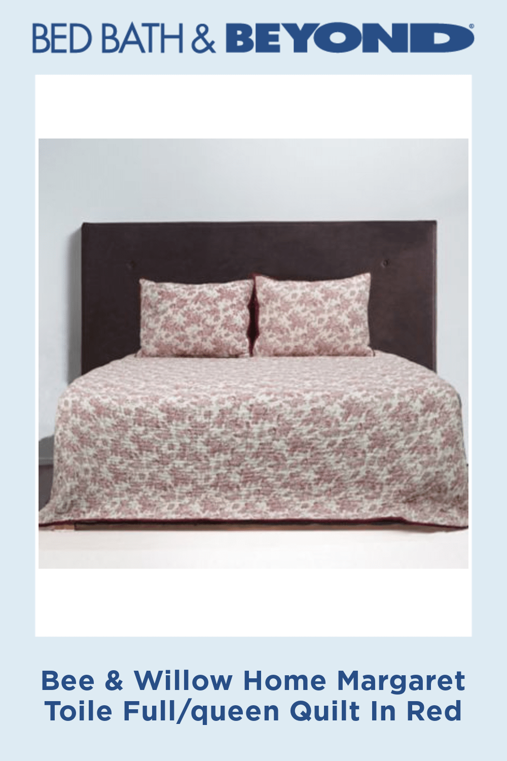Bee Willow Home Margaret Toile Quilt Bed Bath Beyond King Quilt Queen Quilt Quilt Bedding
