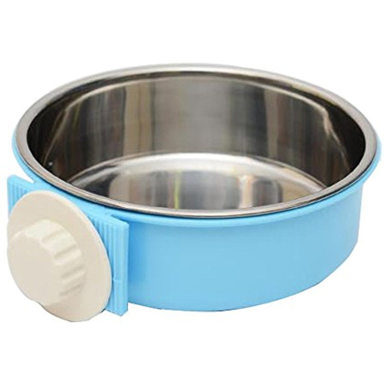 Flying Fish Pet Bowl Water Food Bowls For Dog Cat Small Animals Hanging Removable Cage Feeding Stations Stain Stainless Steel Dog Bowls Dog Bowls Dog Feeding