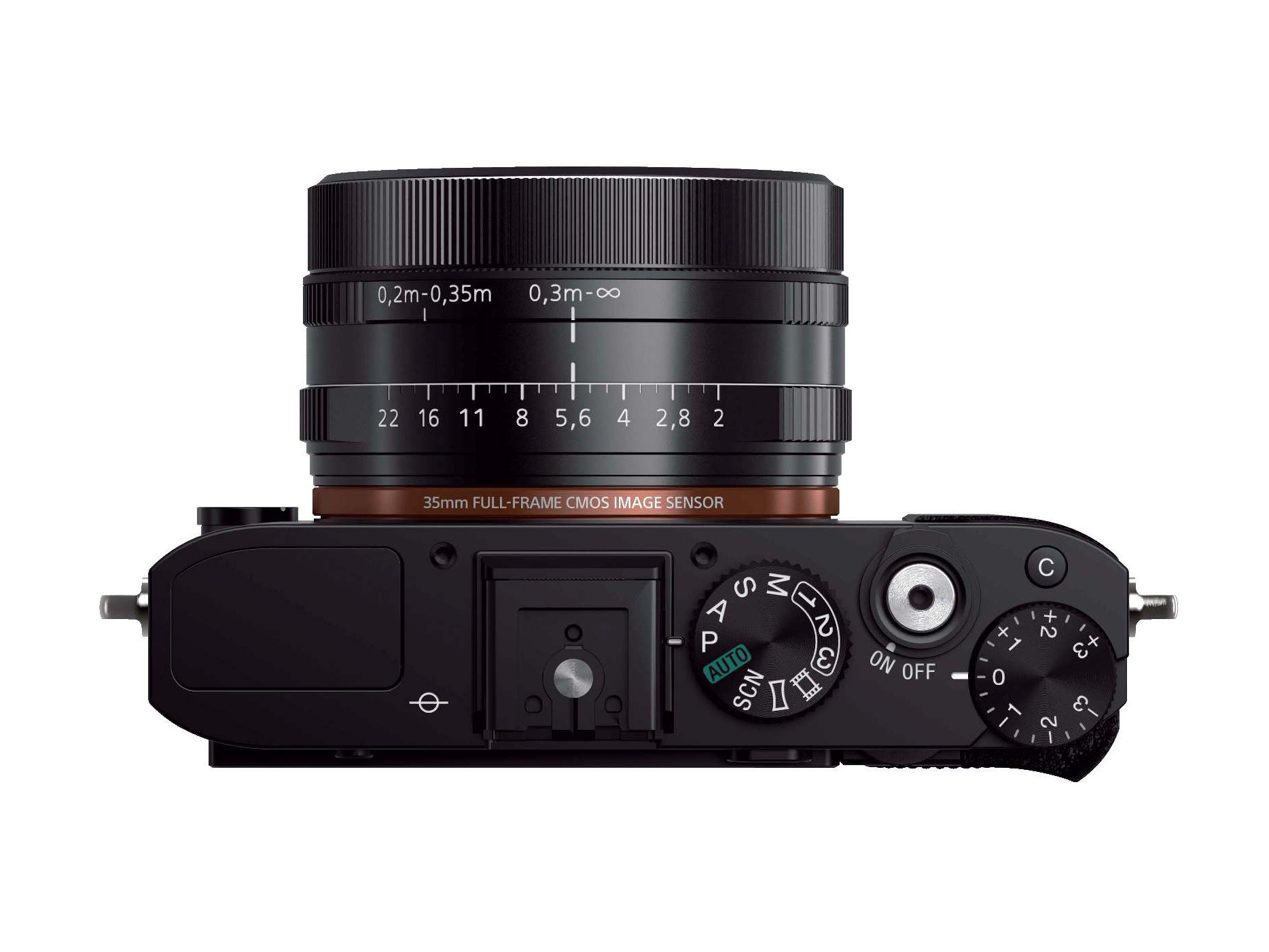 Sony RX1 full-frame camera with fixed Zeiss T* 35mm F2 lens ...