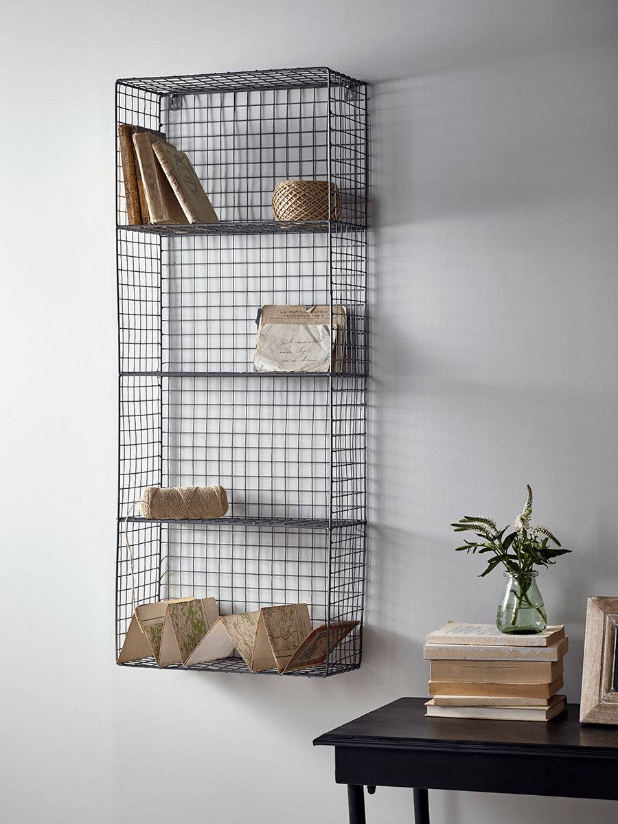 Wire Cube Shelf Unit | Bar | Pinterest | Industrial shelves ...