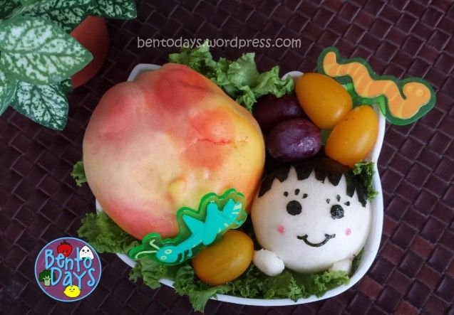 Roald Dahl Bento (James and the Giant Peach bento) | Bento Days
