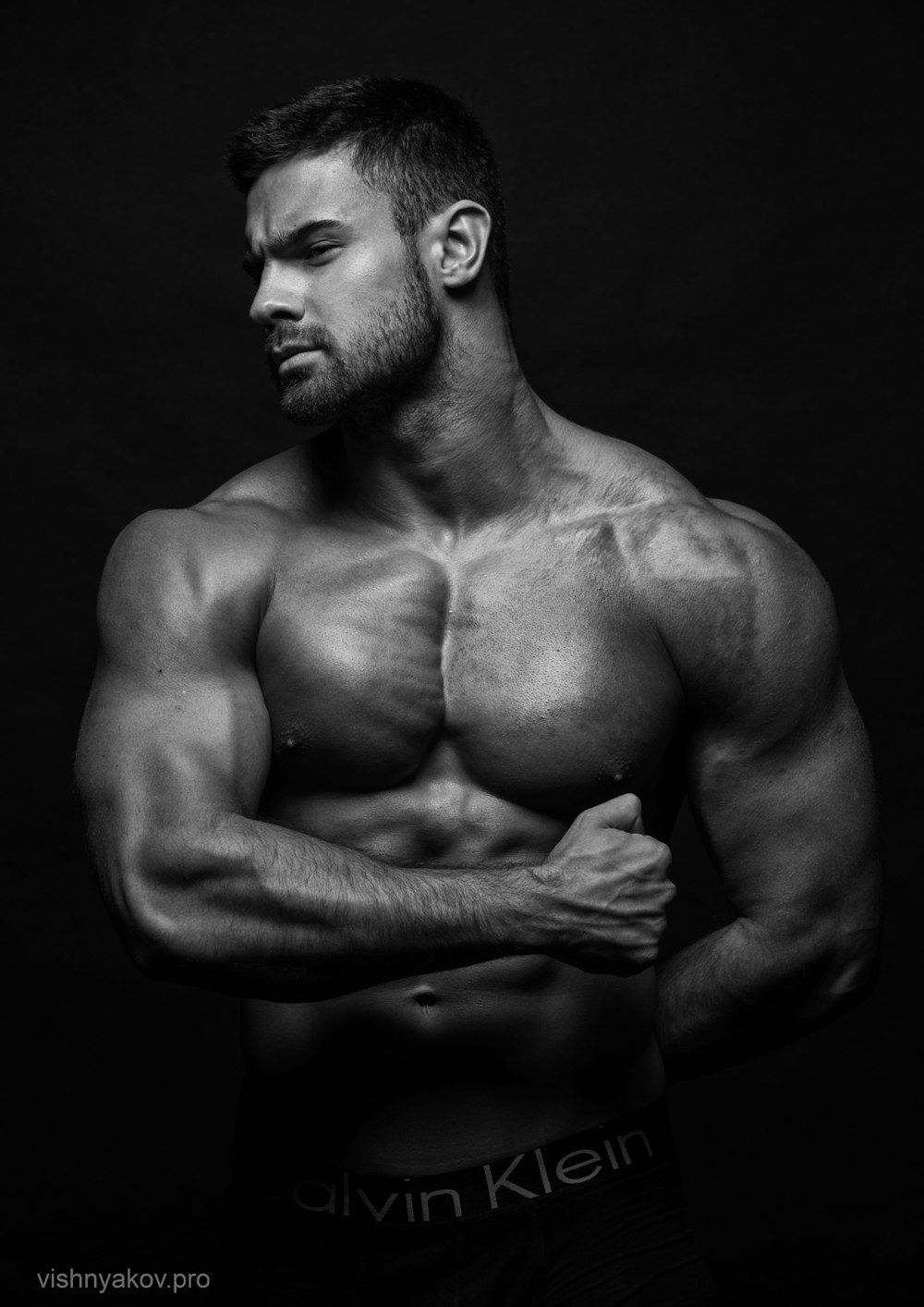Konstantin Kamynin by Andrei Vishnyakov | Muscle ... Модель Мужчина Русский