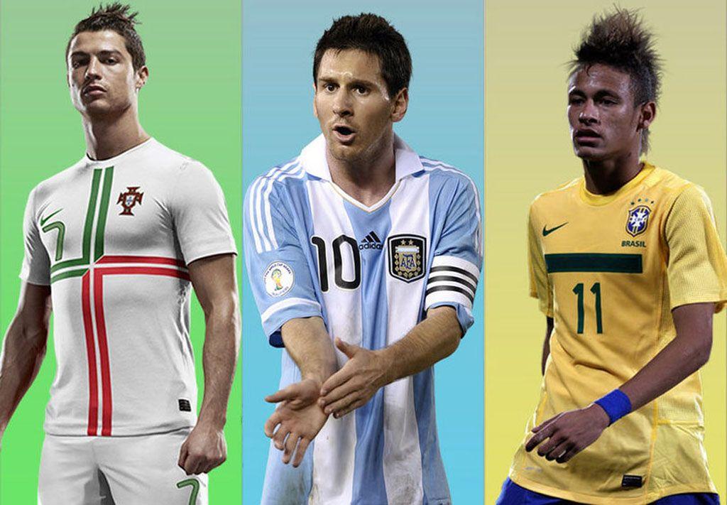 Neymar Quot Messi And Ronaldo Are My Top References In This World Cup Quot Messi And Ronaldo Neymar Ronaldo