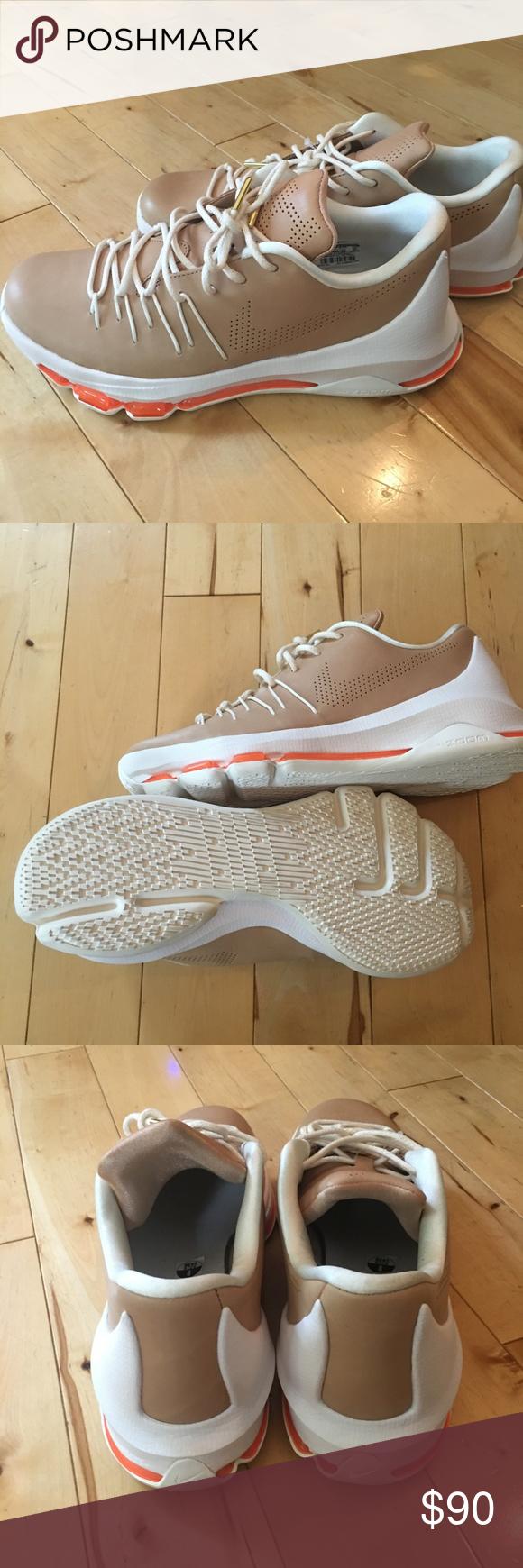 341d508b5802 Nike Zoom Men s KD 8 EXT Shoes Tan Size 8 New Nike Zoom Low Men s KD ...