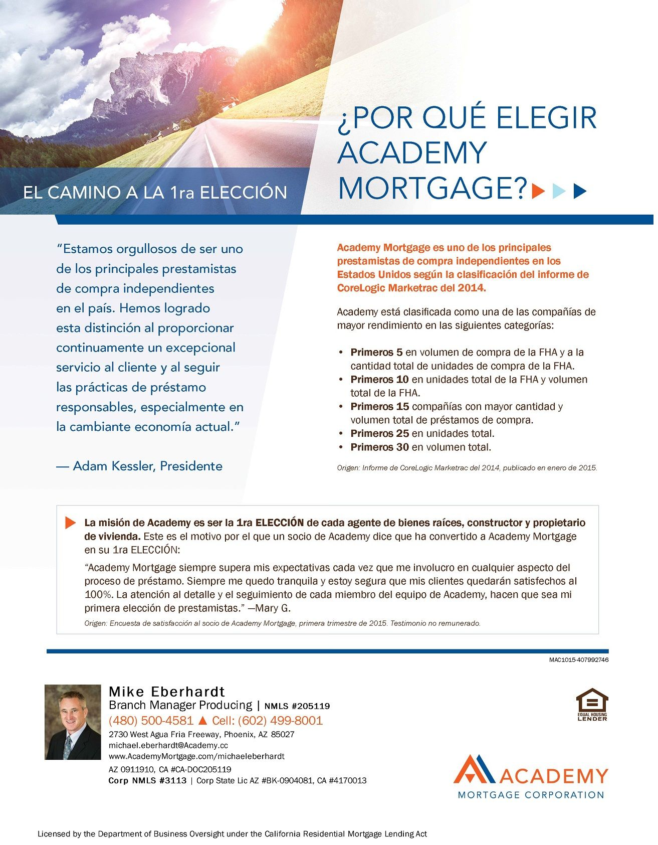Why Academy Spanish Academy Mortgage Achievement