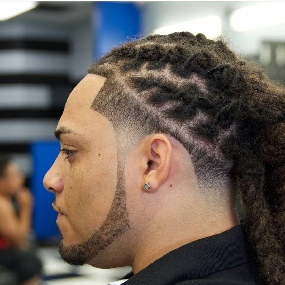 Black Male Braid Hairstyles Fade Haircut