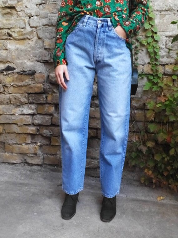 attractive price the best buy online Vintage Jeans 80s / Mom Jeans / High Waisted Jeans ...