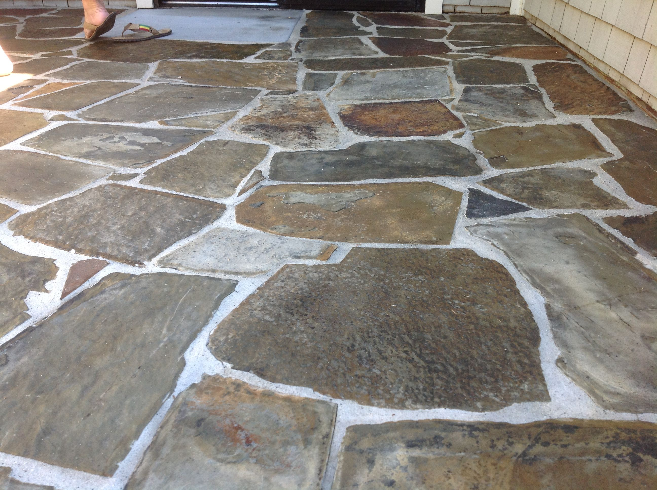 California Tile Restoration Testimonials Slate Patio Slate