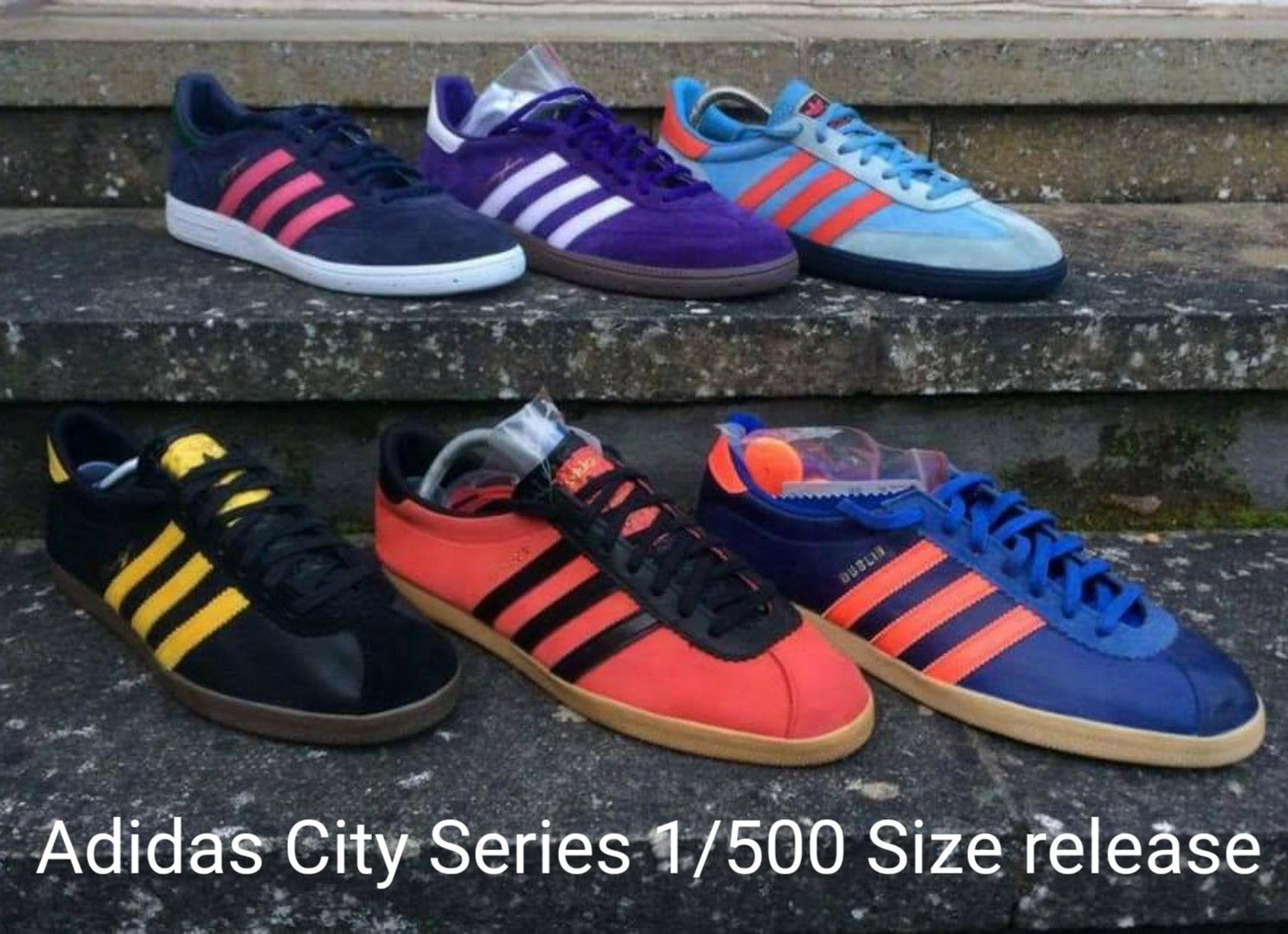 vendita usa online up-to-date styling check-out This is the full pack of Adidas City Series released by Size in ...