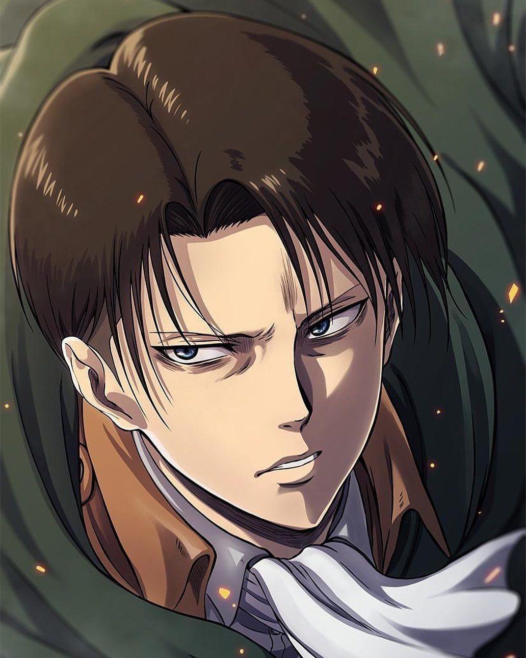 #shingekinokyojin #attackontitan #levi #ackerman #anime ...