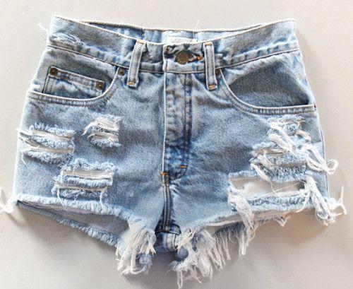 Shorts rasgado tumblr - Pesquisa Google | Shorts ...