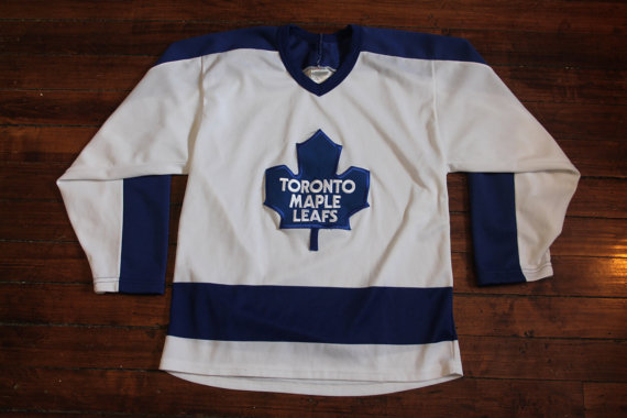 official photos efc15 d4281 Toronto Maple Leafs jersey vtg NHL hockey vintage CCM jersey ...