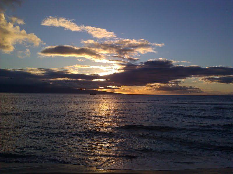 My favorite place....Maui sunset