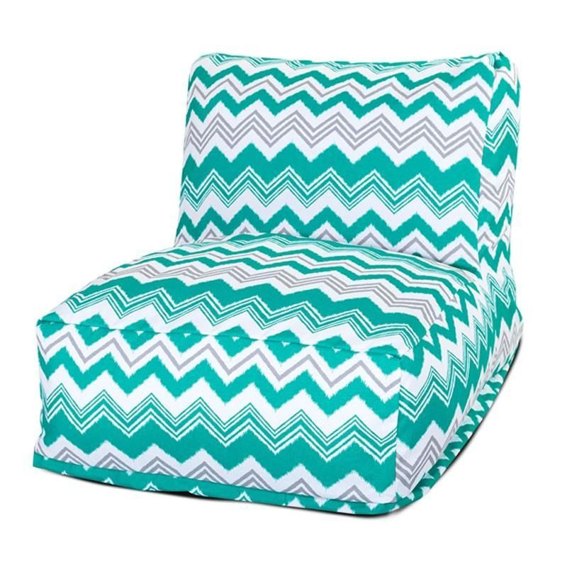 Majestic Home Goods 85907220383 Pacific Zazzle Bean Bag Chair Lounger