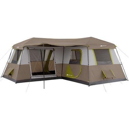 Ozark Trail 12p Instant Walmart Com Cabin Tent Family Tent Camping Tent