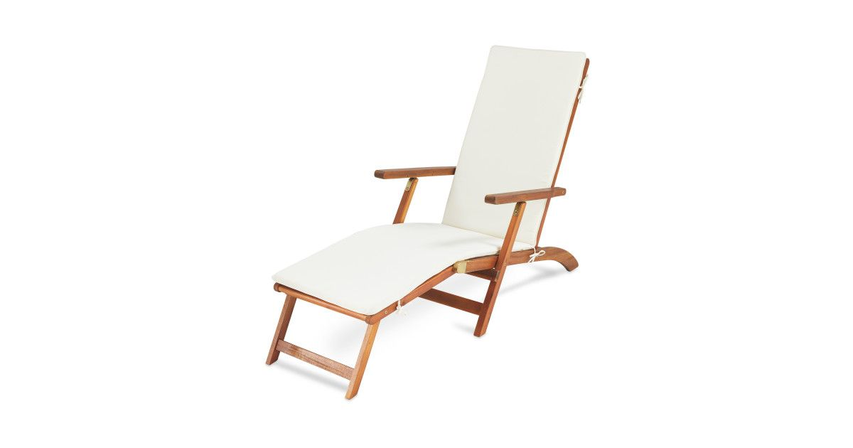 Awe Inspiring Gardenline Wooden Lounger Garden Outdoor Chairs Sun Uwap Interior Chair Design Uwaporg