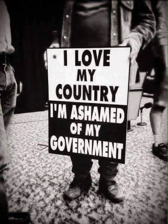 I Love My Country Im Ashamed Of My Government Yup Pinterest