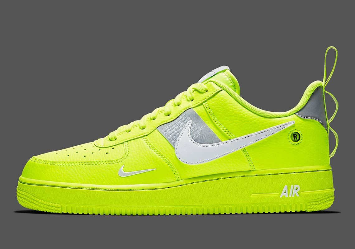 a550a7845311 The Nike Air Force 1 Utility Arrives In A Bright Volt