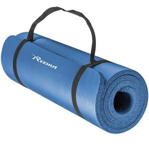 """1/2"""" EXTRA THICK YOGA MAT WITH STRAP"""