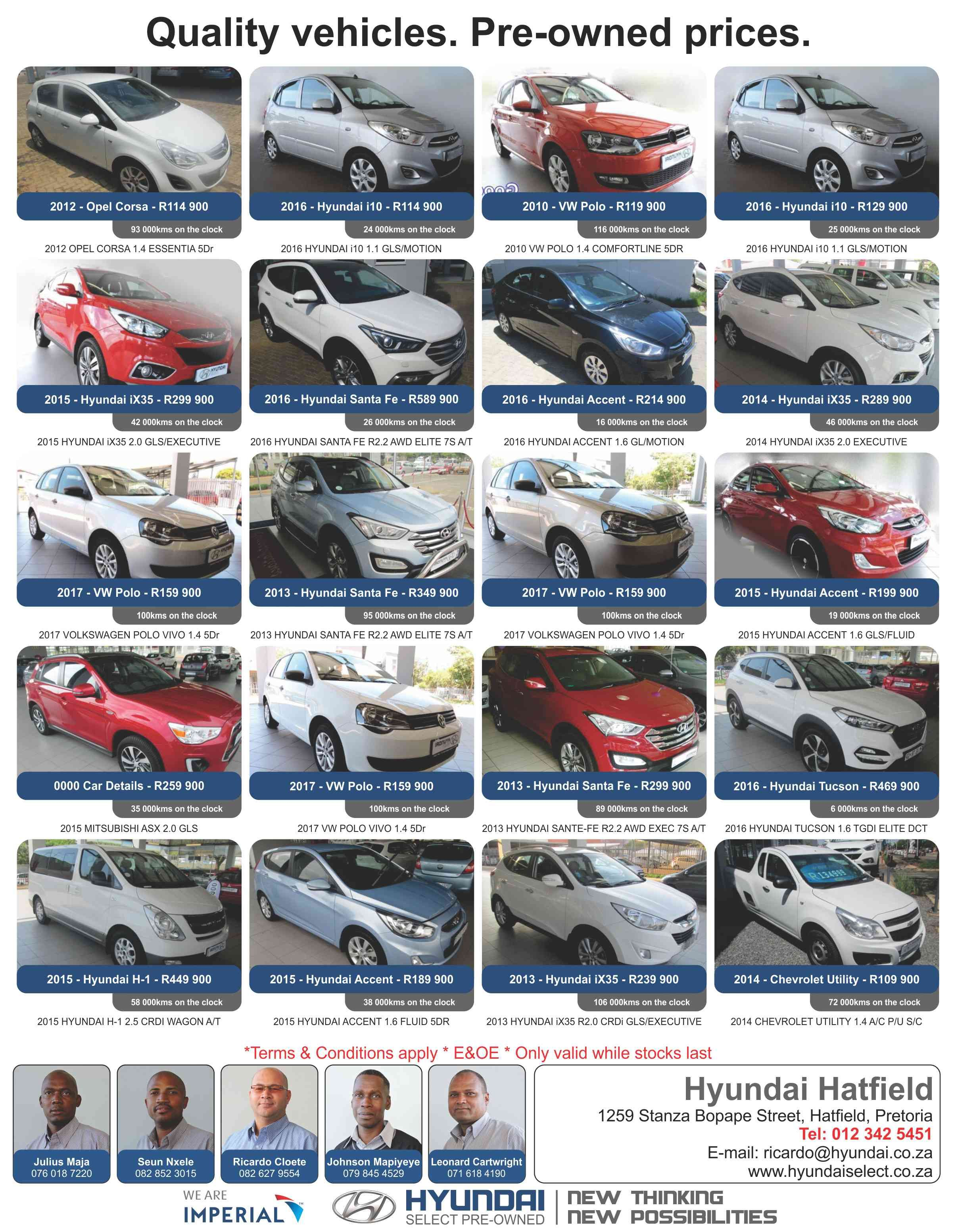 Hyundai Hatfield Quality Vehicles Pre Owned Prices Dont Miss Out Hyundaihatfield Call Us Now For More Information And Prices Hyundai Opel Corsa Vw Polo