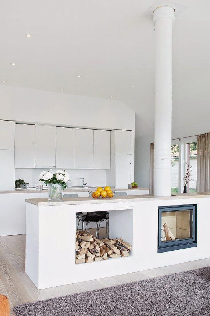 Estufa de leña cocina integral google search fireplace
