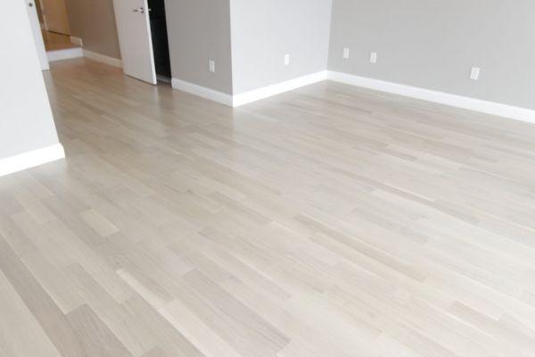 Scandinavian Whitewashed Hardwood Floors Using Bona Nordic Seal