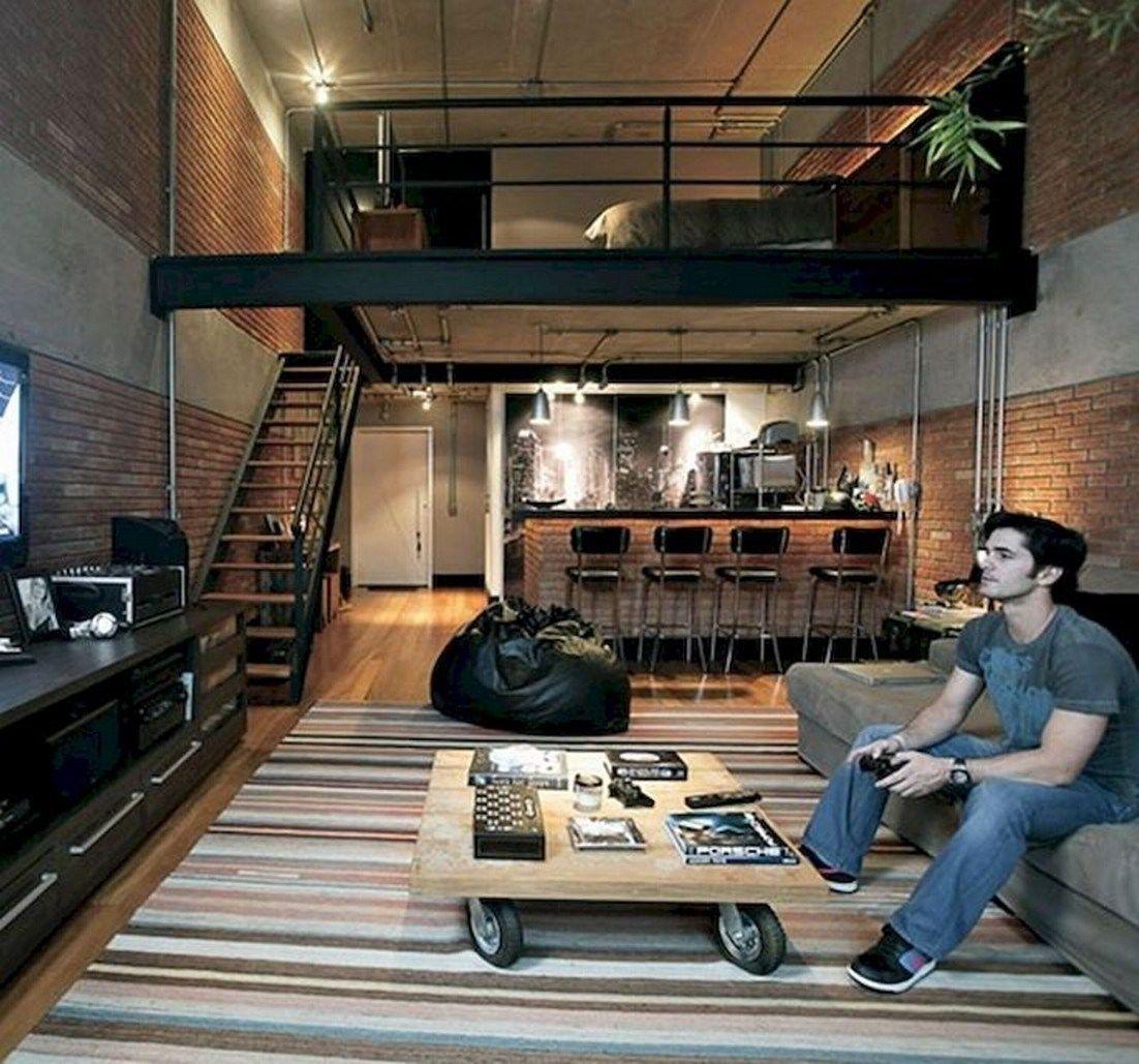 ✔54 creative sleeping areas for open plan homes design 6 > Fieltro.Net Genç Odası