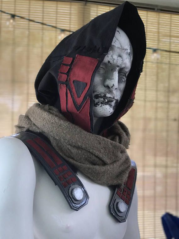 new concept fdd69 46162 Destiny Cayde-6 inspired hood and cape