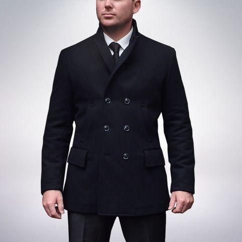James Bond Skyfall Shanghai Pea Coat Beautifully Made Screen