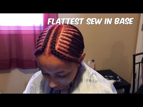 Flat Sew In Base Tutorial   KasiaMae Beauty - YouTube   Hair ...