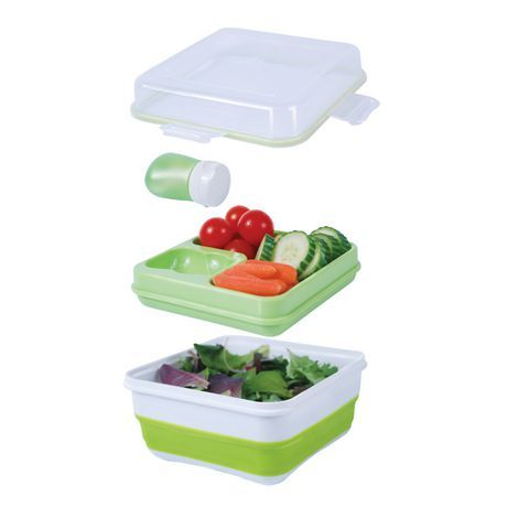 Cool Gear Ez Freeze Collapsible Salad Salad Container Food